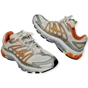 Nike Air Tri-D Phylon Orange Gray Running Shoes 8